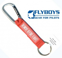 Брелок REMOVE BEFORE FLIGHT с карабином